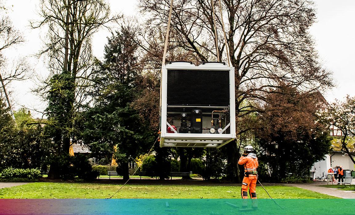 KAPAG Kaltwassermaschine für Manor Winterthur