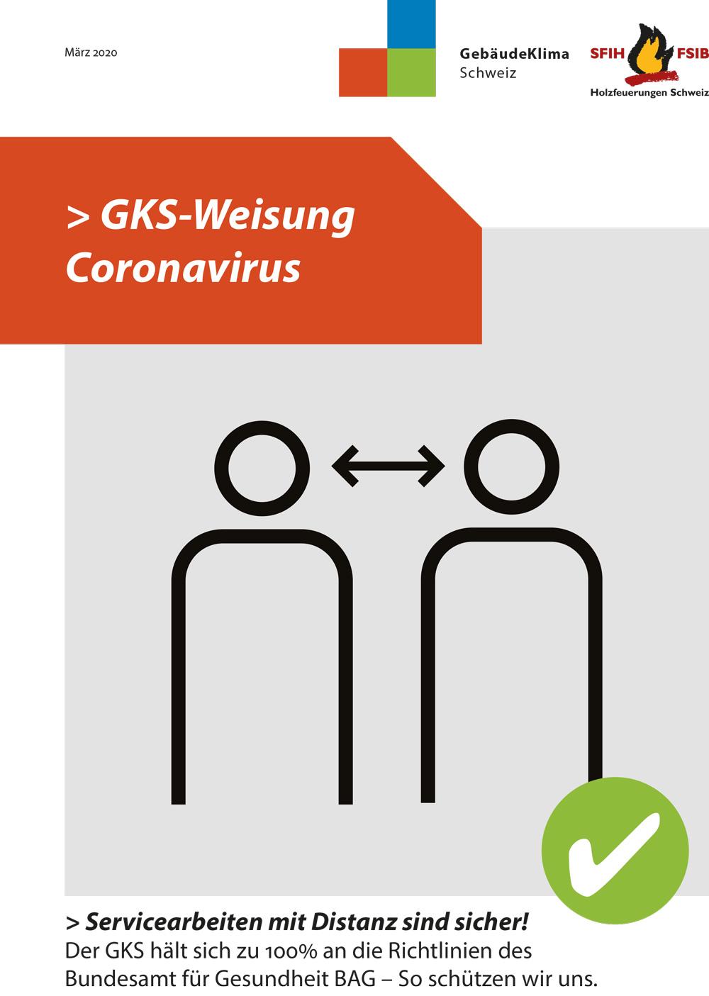 GKS Weisung Coronavirus